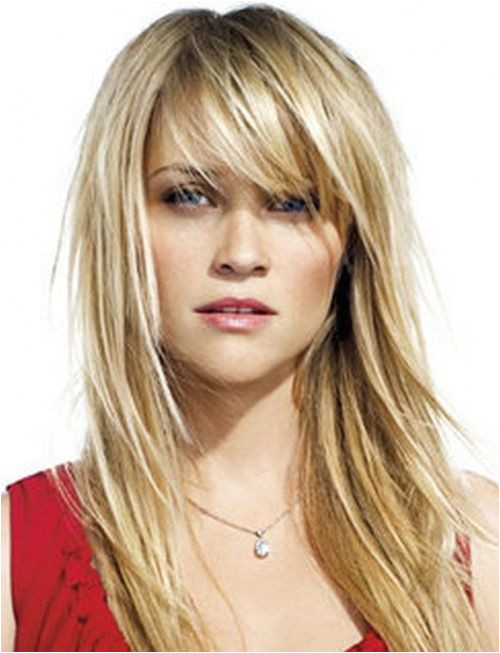 Easy Long Hairstyles Layered BangsHairstylesLayered