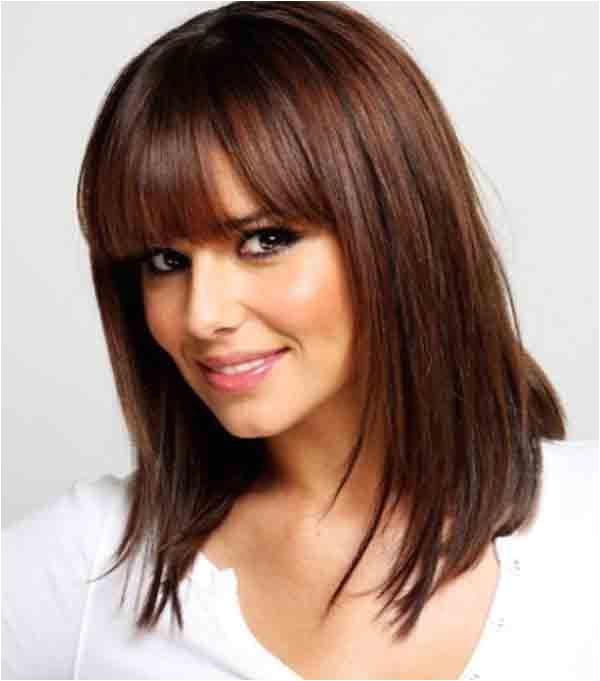 Chin Length Hairstyles with Bangs 2013 Medium Length Hairstyles for Fine Hair with Bangs Medium Midshoulder