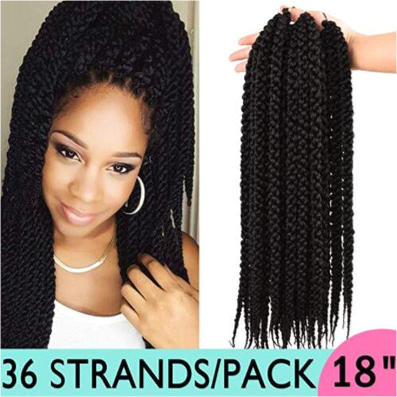 2019 3D Cubic Twist Crochet Hair 18 4S Crochet Braids Ombre Synthetic Braiding Hair Extensions 1B From Zffbeautifulhair $57 09