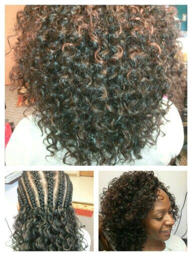 CROCHET BRAIDS Freetress GoGo curl pattern By Hair Splendor Beauty Supply Stylist Radford VA