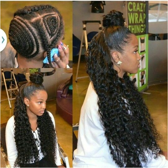 20 Vixen Sew In Weave Installs We Are Totally Feeling Pinterest [Gallery] in 2019 Crochets and Sew Ins