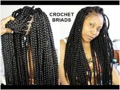 NO CORNROWS CROCHET BRAIDS ONLY 1 HOUR TUTORIAL [Video