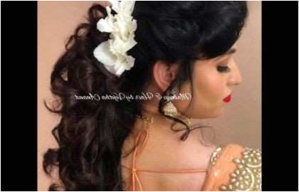 Hairstyles for Girls for Indian Weddings Awesome Latest Bridal Hair Style Beautiful Indian Wedding Hairstyles New