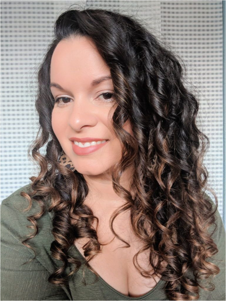 Evolvh and Raw Curls for 2c 3a curls Curly Girl Method CG method