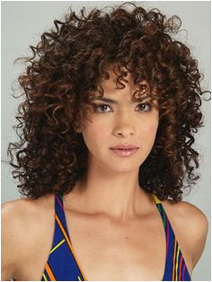 Curly bangs I really like this Jackson Wave curly hair hairstyle is perfect for those with naturally tight curly hair and will need regular trims every