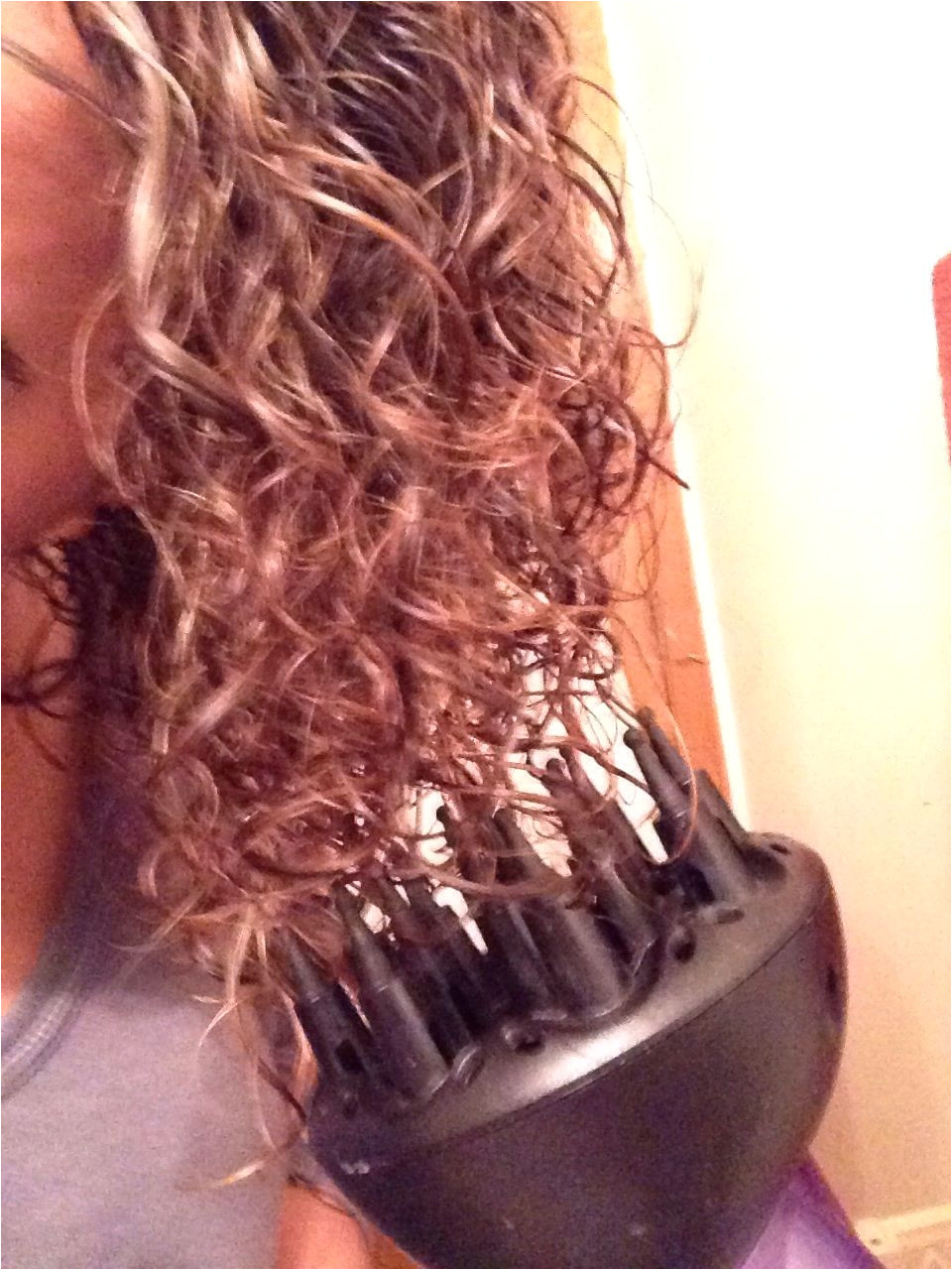 How to Use a Diffuser on Curly Hair Recipe Beauty Pinterest