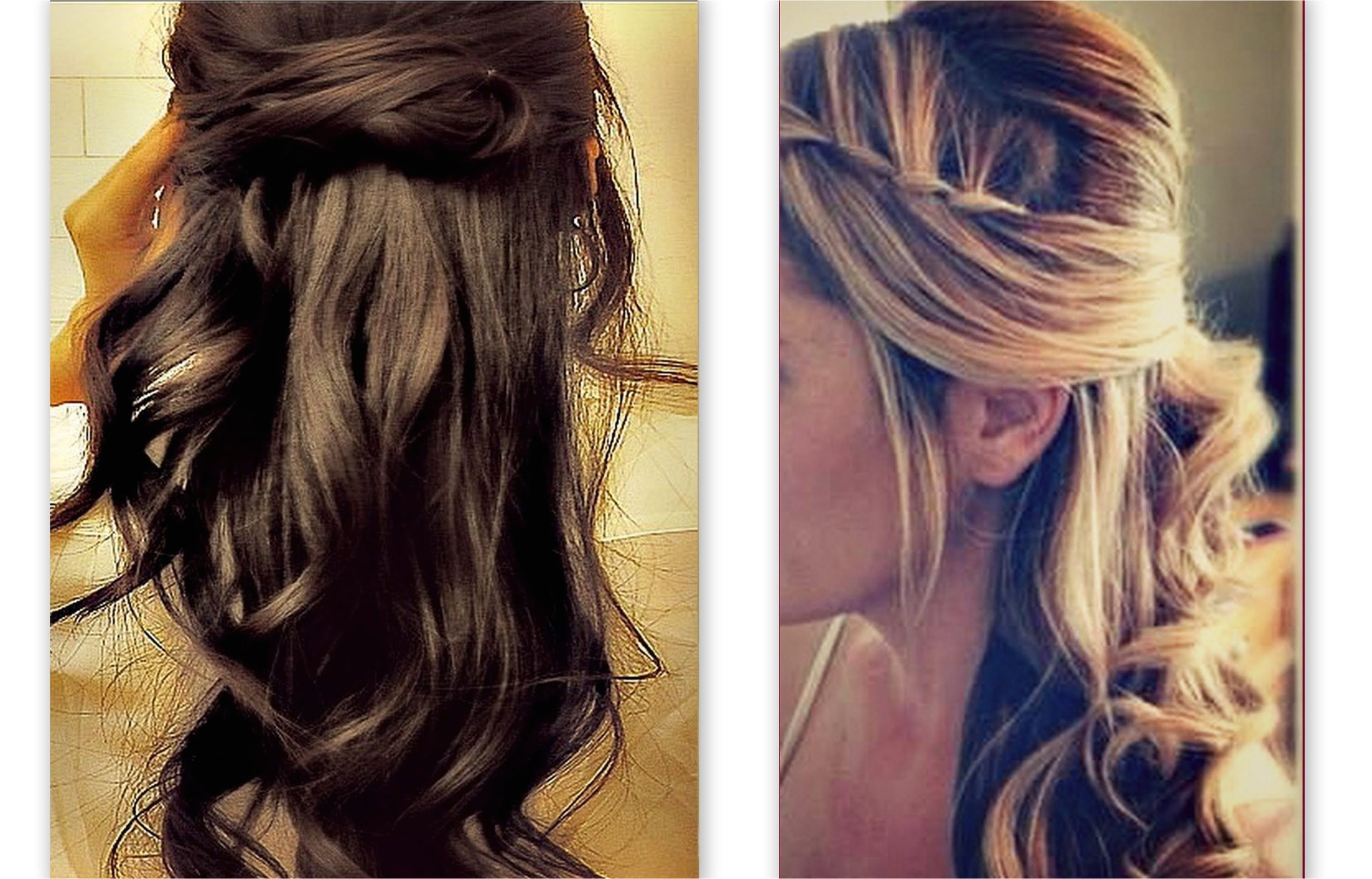 Formal Half Up Half Down Hairstyles Qualified Prom Hair Down Aabadv