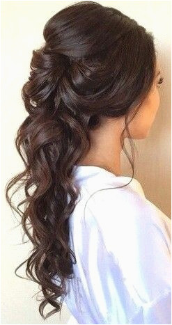 "Half Up Half Down Curly Hairstyles Lovely Pin Od Pou…¾vate""¾a Erika"