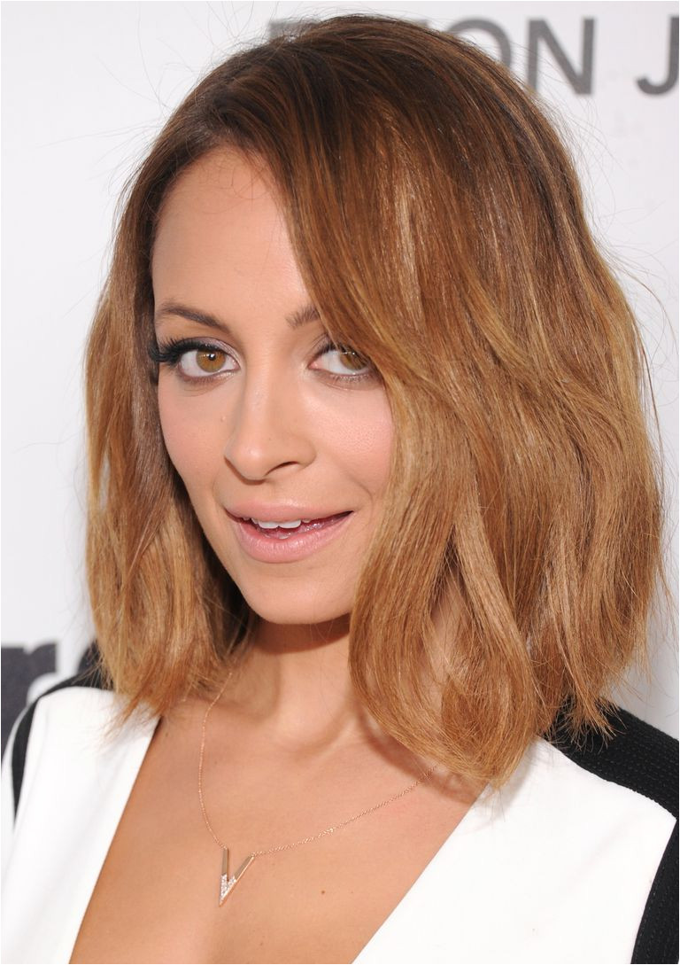 Nicole Richie with shag hairstyle