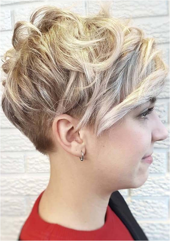 Versatile Short Curly Pixie Haircuts for 2018 Wanna show off your beautiful facial feathers by any suitable haircut Visit here the amazing ideas of short