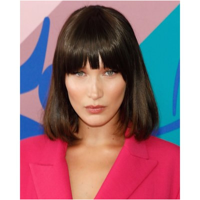 This is a great way to add fringe without the mitment of actually cutting your hair