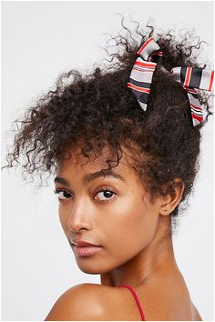 Slide View 1 Bow Scrunchie Hat Hairstyles Scrunchies Hair Accessories Bows