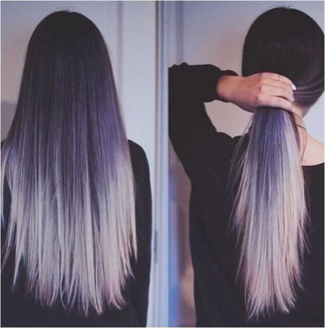 Two Tone Hair Colour Ideas to Dye For Ombre Hair Styles