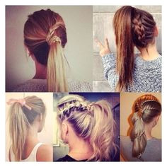Back to school 20 HAIRSTYLE Easy Ponytail