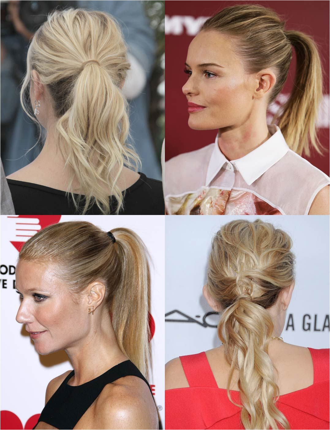 14 Ponytail Hairstyles Giving The School Girl Updo A High Fashion Overhaul