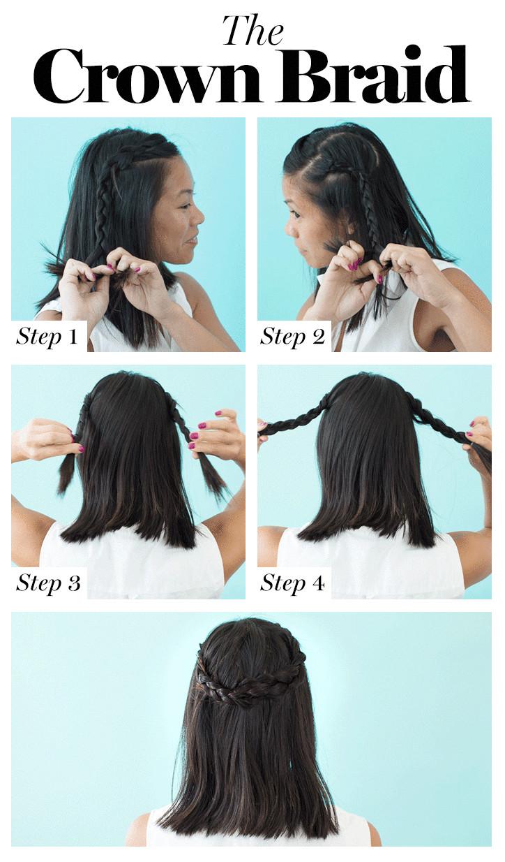How to Braid Your Own Hair 8 Cute DIY Hairstyles for Every Hair Type hairbraidingtutorials