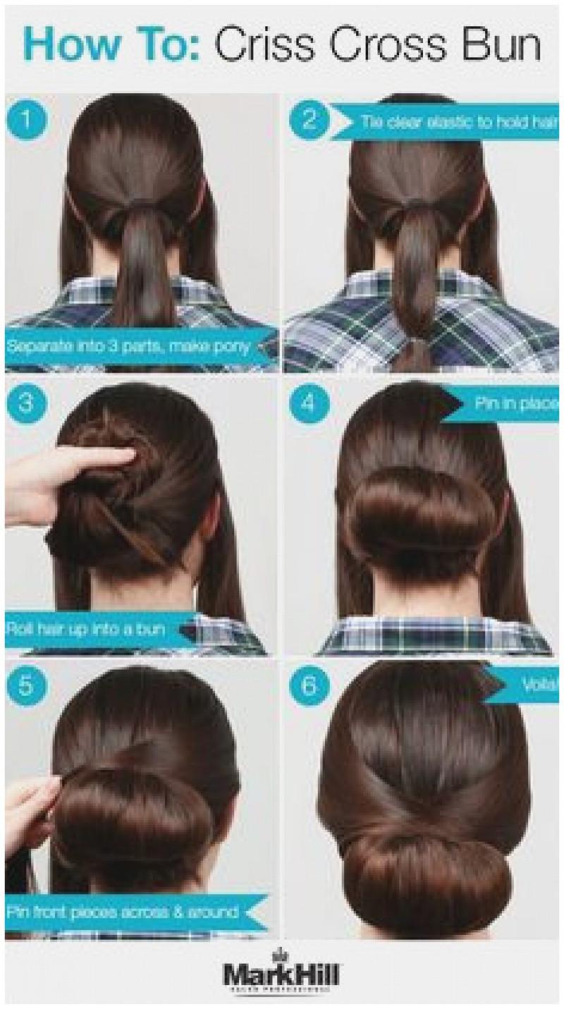 Cute Everyday Hairstyles Tutorials Simple Hair Bun Tutorial Beautiful Easy Messy Bun Updo Hairstyles