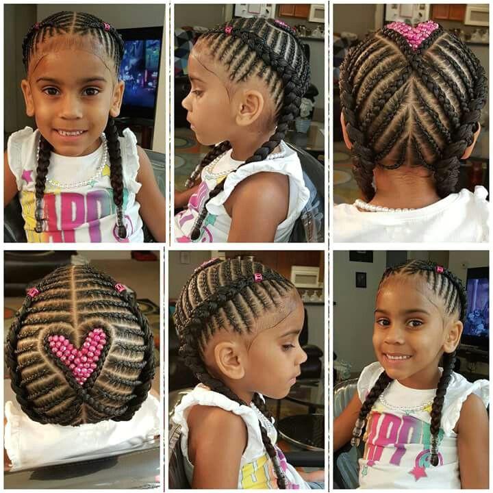 Little Black Girls Braids Black Girl Braids Kid Braid Styles Short Hair Styles