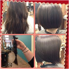 Salon Jay Lee before and after Donated to locks of love 💗 Wigs For