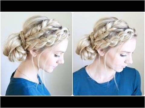 Cute Girl Hairstyles Inspirational Mixed Braid Bun Cute Girls Hairstyles Cute Girl Hairstyles