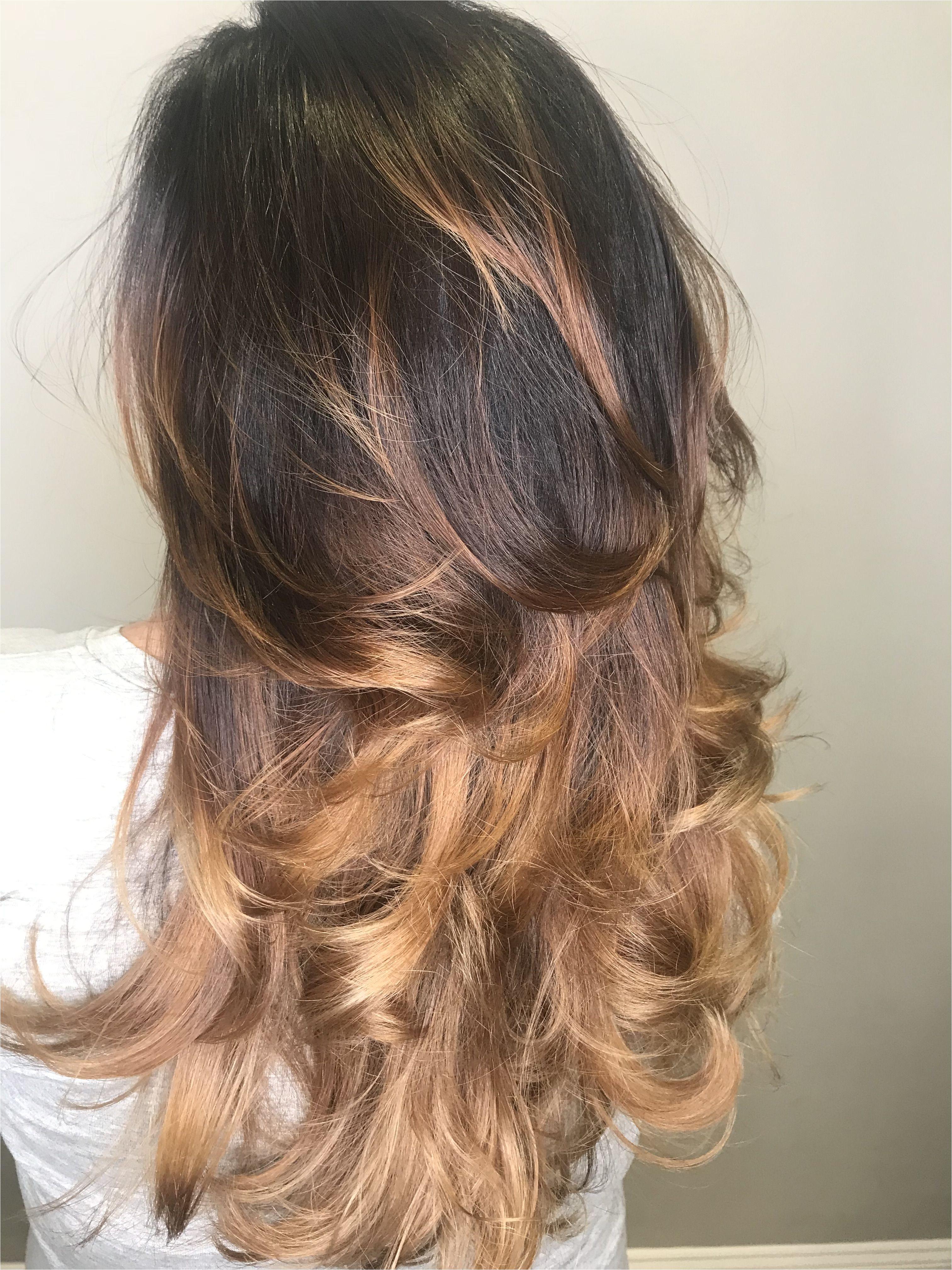 Cute Hairstyles Dark Brown Hair Dark Brown Hair with Balayage Haircolor Tcr