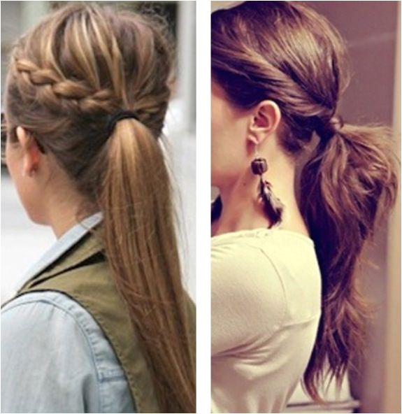 Cute pony tails