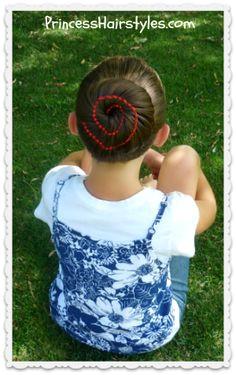 Ribbon Swirl Bun Hairstyle Tutorial