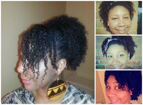 Faux Wash n Go on 4C Hair Tutorial