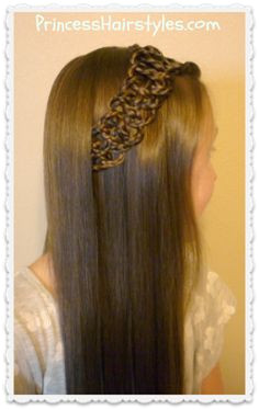 Braided 4 Strand Slide Up Accent Hairstyle Tutorial