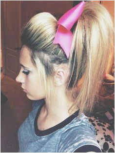 New Cheer Hair Hairstyles and Beauty Tips Cheer Hair Poof Cheer Ponytail Cheer