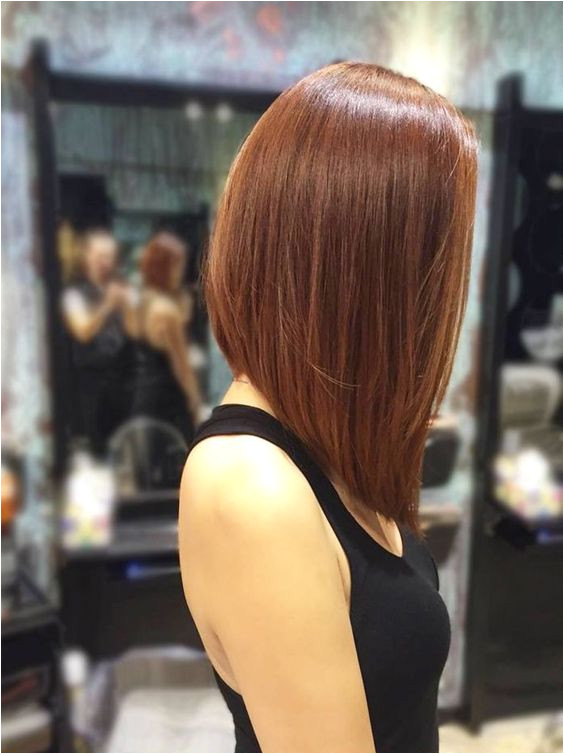 A Line Bob Medium Length Hairstyles 2017