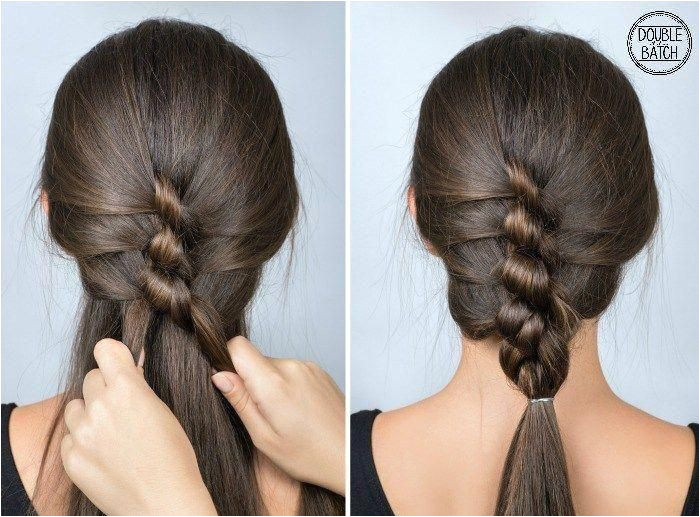 Here are some simple hairstyles for school that are both cute & simple for those rushed