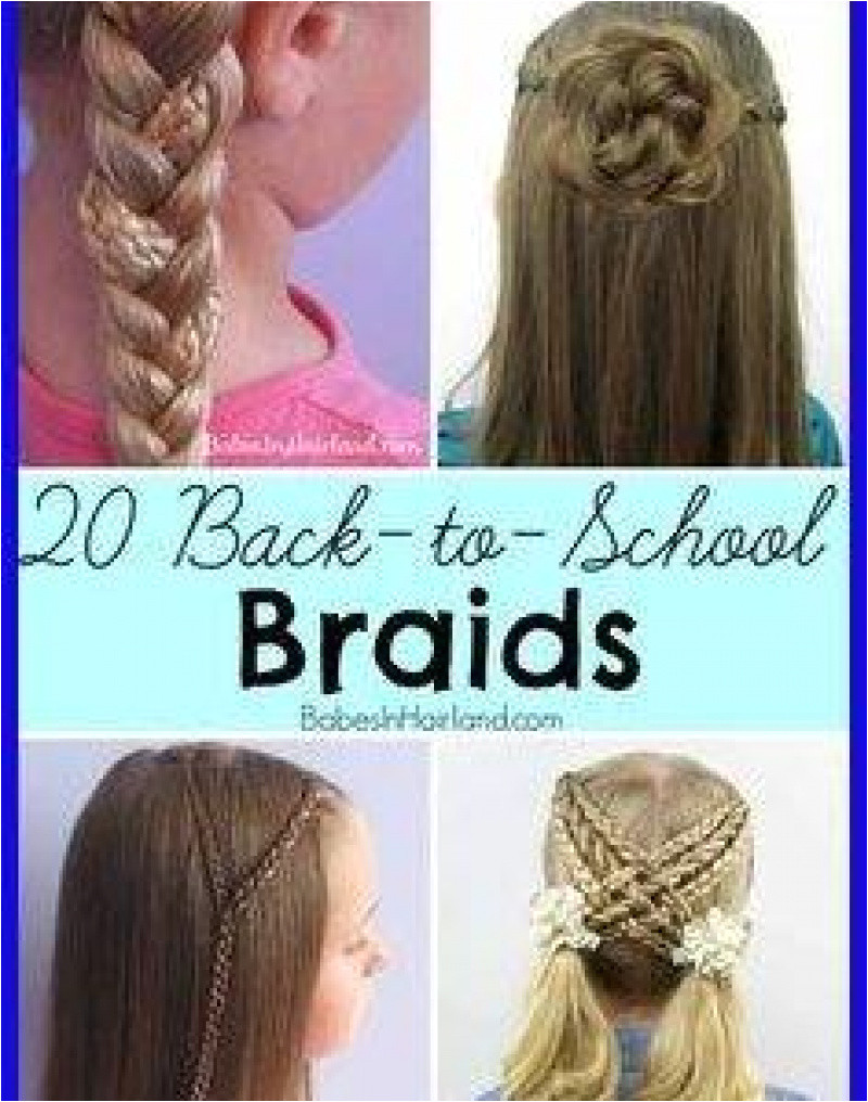 Hairstyles for School Pics Hairstyle for School Girls Media Cache Ak0 Pinimg 736x 0b 0d 27