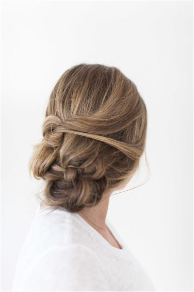 Cute Hairstyles for Josefina Bridal Beauty Messy Braid