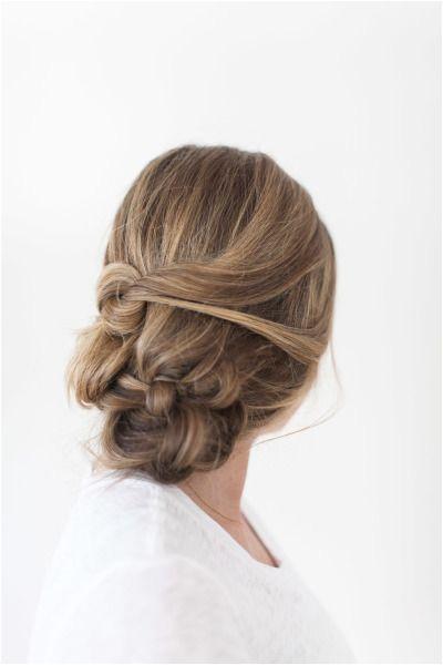 Bridal braid beauty messy braid