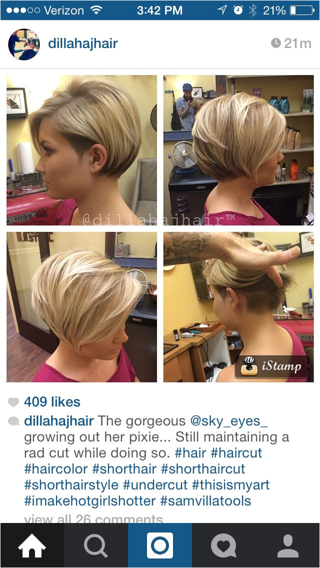 Cute Hairstyles Growing Out Short Hair Bob Growing Out A Pixie New Hair Style Pinterest