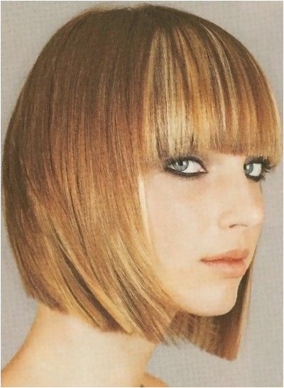 long bob haircut with bangs Cute for when if I ever cut my hair
