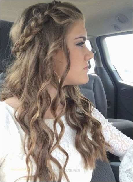 Hairstyles for Girls for Medium Hair Luxury Lovely Cute 5 Minute Hairstyles for Curly Hair –