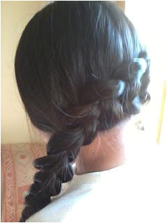 Katniss braid The Hunger Games