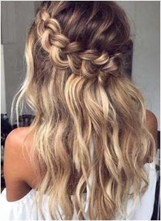 Loop Waterfall Braid Hairstyles 2018 2019