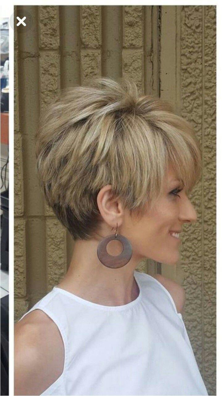 This Pin was discovered by Lor Cute short hair Pinterest