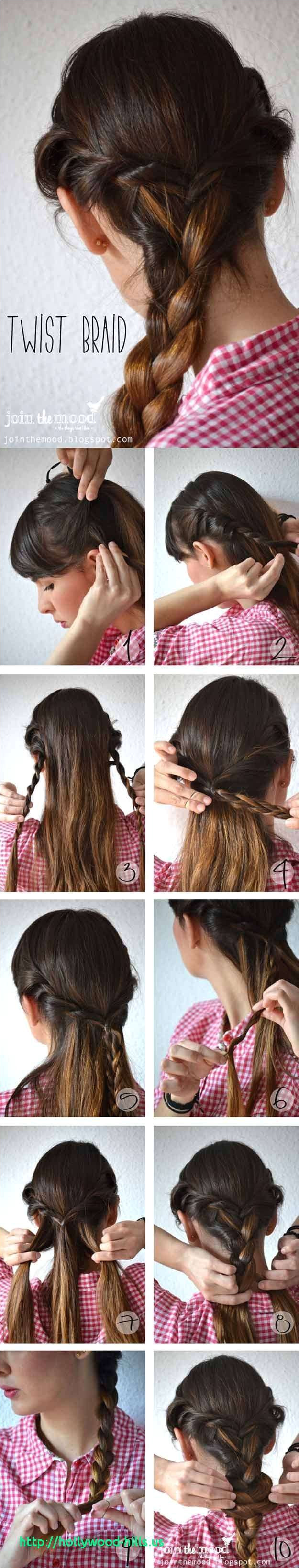 Cute and Easy Hairstyles for School Pics 5 Cute and Easy Hairstyles for School Best 5