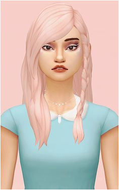 4 Hair Recolors 4 of my favorite female s4 cc hairs recolored