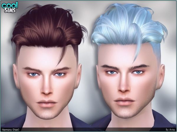 Harmony Hair by Anto at TSR • Sims 4 Updates
