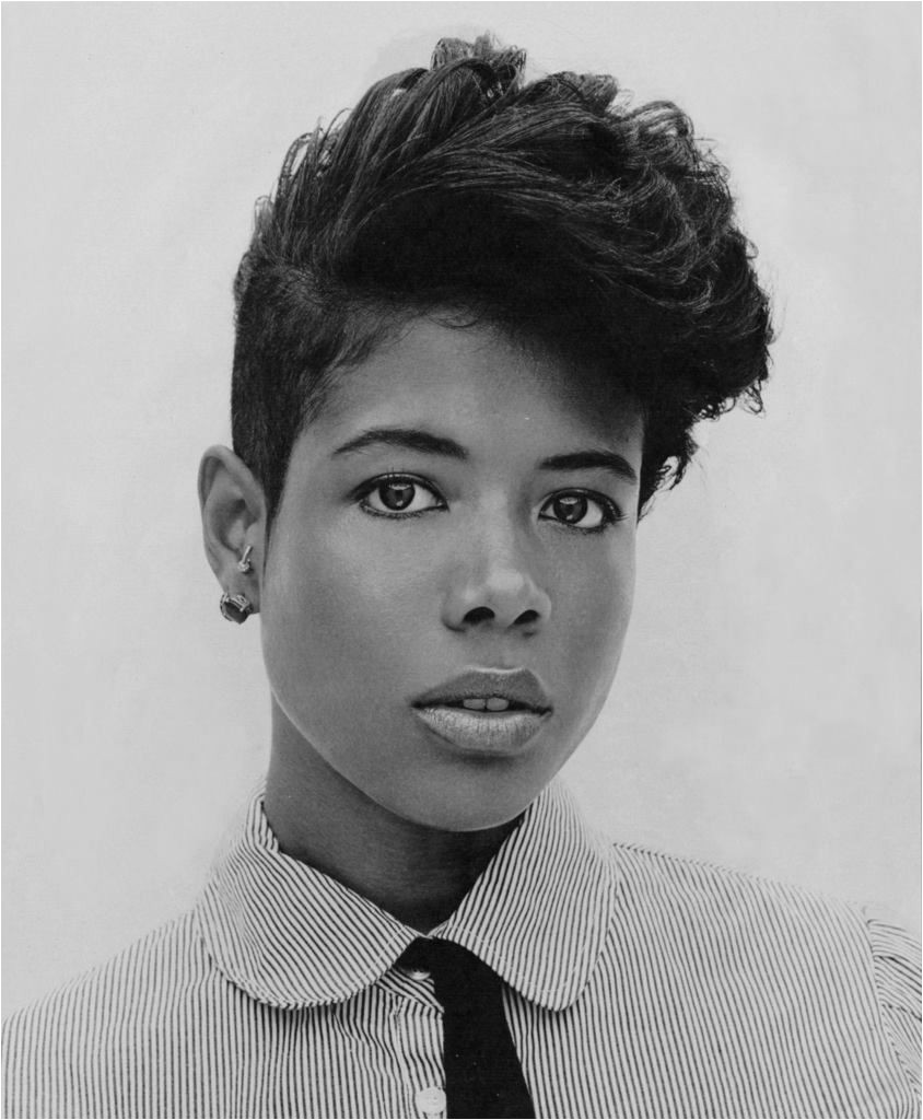 Kelis tapered haircut undercuts are awesome Her hair is more of a 3c hair type