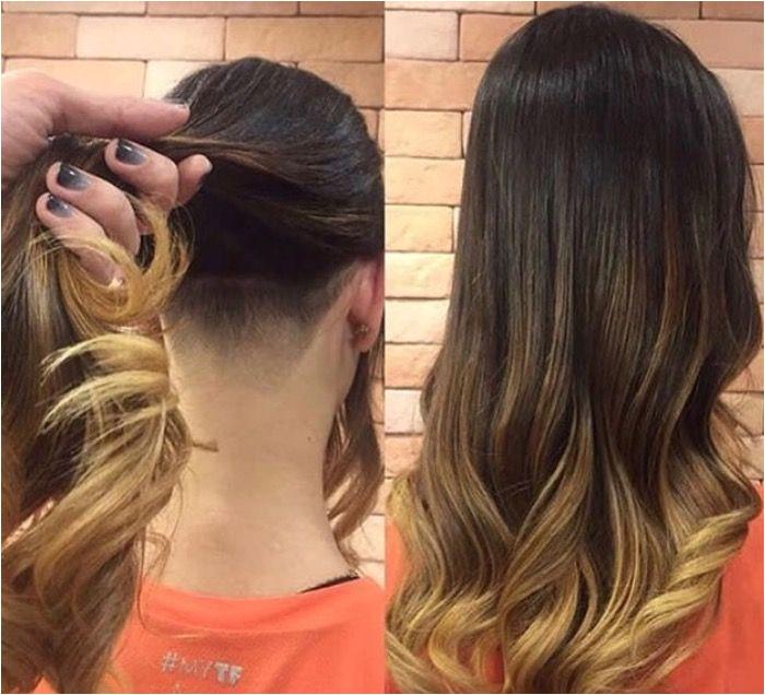 Side Cuts Cut Hairstyles Undercut Longer Hair Nail Art Hair Dos Cute Hairstyles Long Hair Nail Art Tips