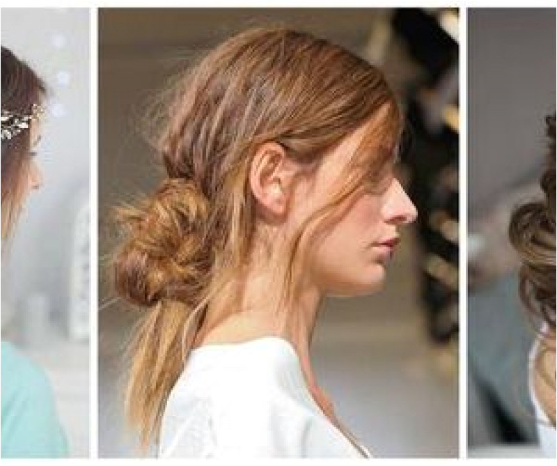 Hairstyles Messy Buns for Long Hair Bridesmaid Hairstyles Maid Honour Hair Ideas Styles