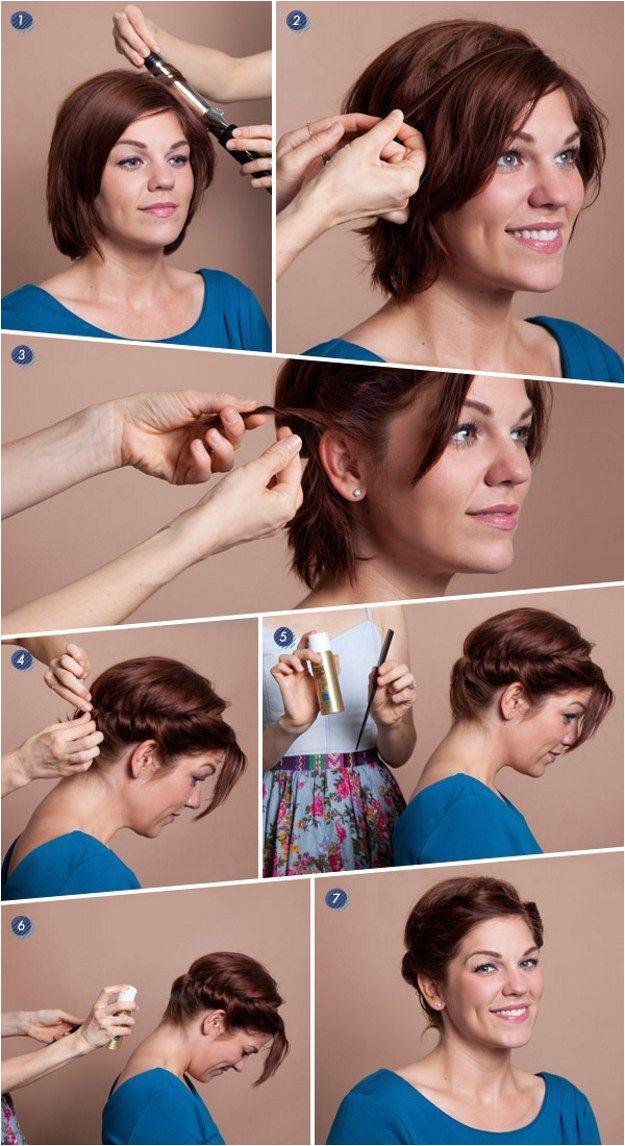 8 Cute Short Hairstyles for Everyday Wear Hairstyle Tutorials Braid Tutorials Makeup Tutorials