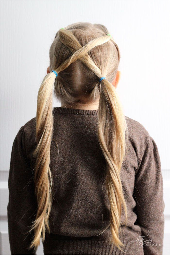 Simple and cute Hairdos for Girls perfect 5 minute dos for school days