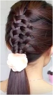 e easy trick to this Zipper Braid Hairstyle How is no body talking about
